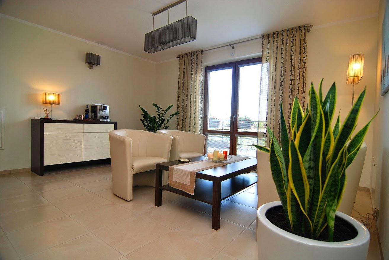 Rowy - Pokoje i apartamenty ROSA - salon wypoczynkowy