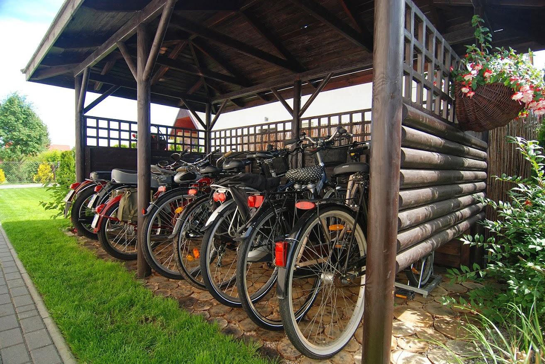 Rowy - Pokoje i apartamenty ROSA - rowery i skutery