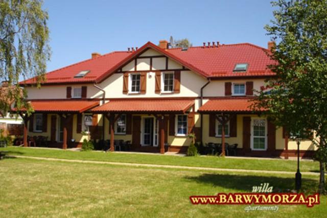 Rowy - Apartamenty/domki BARWY MORZA