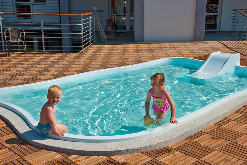 Ośrodek rodzinny z basenem dla dzieci
