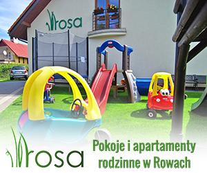 Pokoje i apartamenty rodzinne w Rowach