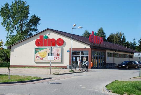 Dyskont Dino w Rowach